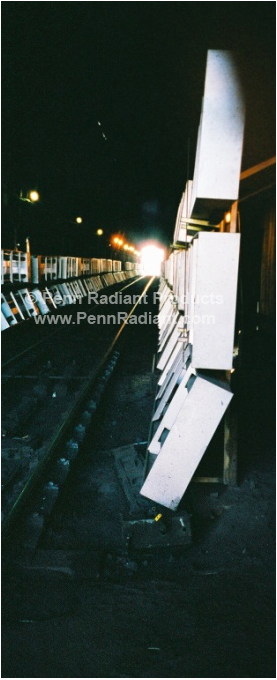 Railcar Thaw Sheds Penn Radiant Products